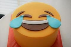 emoticon cake