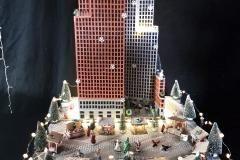 ministerie van veiligheid taart kerst