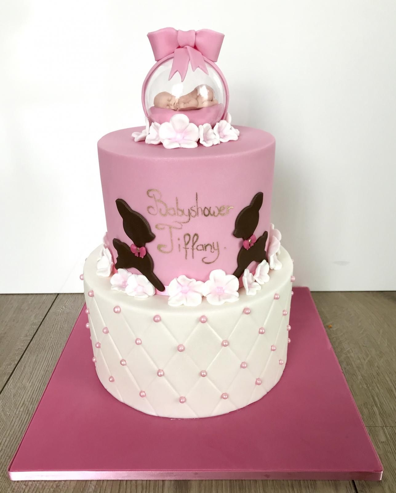 custommade babyshower cake
