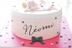 baby cake designed from card