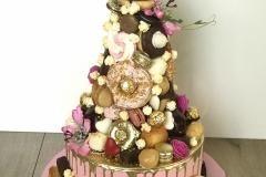 babyshower candy dripcake
