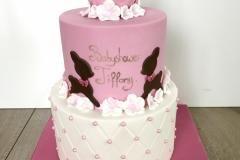 custommade babyshower cake