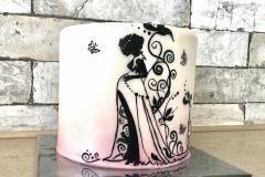 pregnancy cake zwangerschapstaart