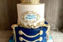 royal blue taart royal blue cake