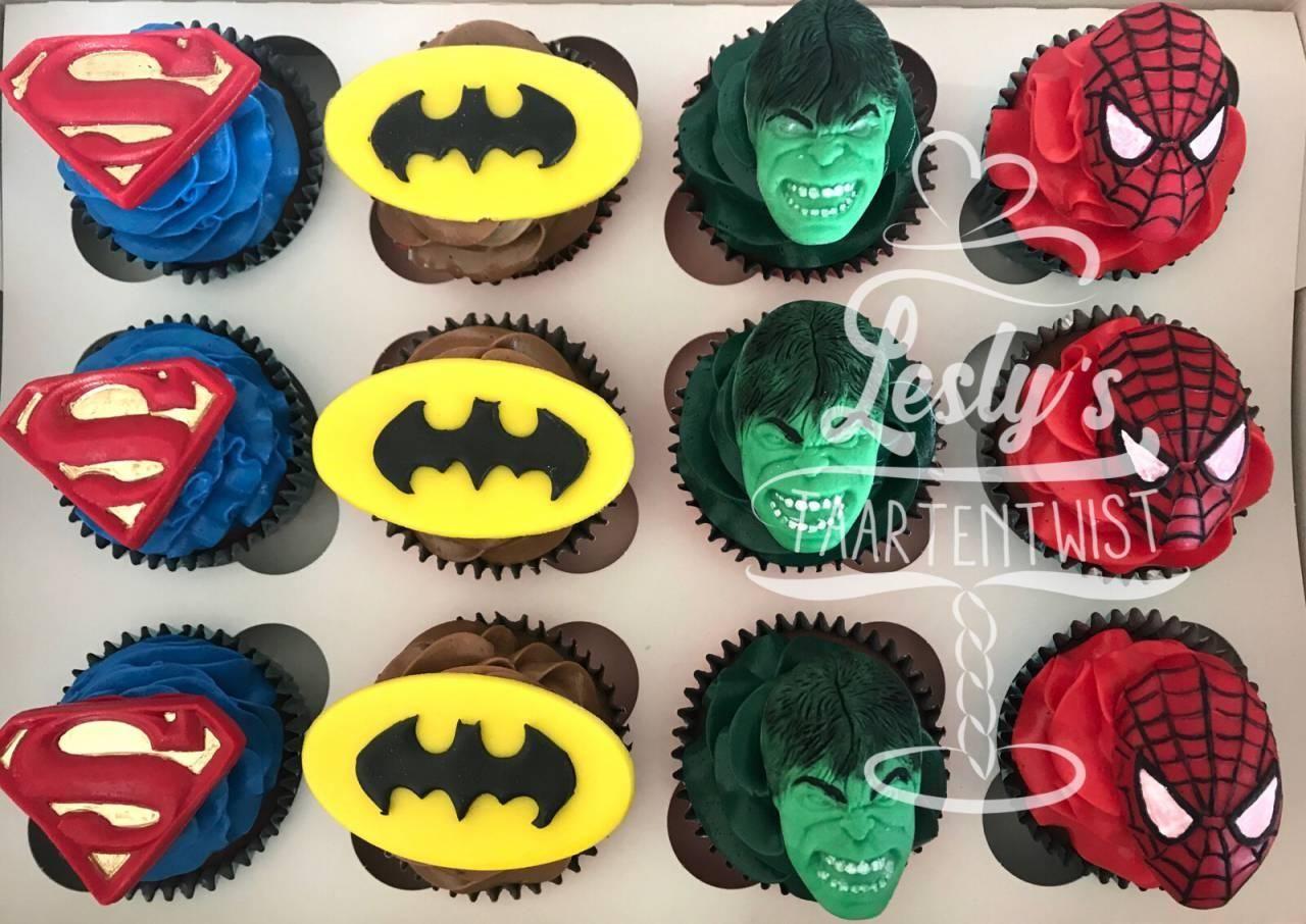 avengers-cupcakes