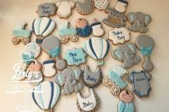 babyshower cookies boy