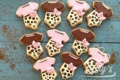 babyshower cookies girl