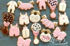 babyshower cookies girls