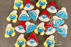 smurfen koekjes smurf cookies