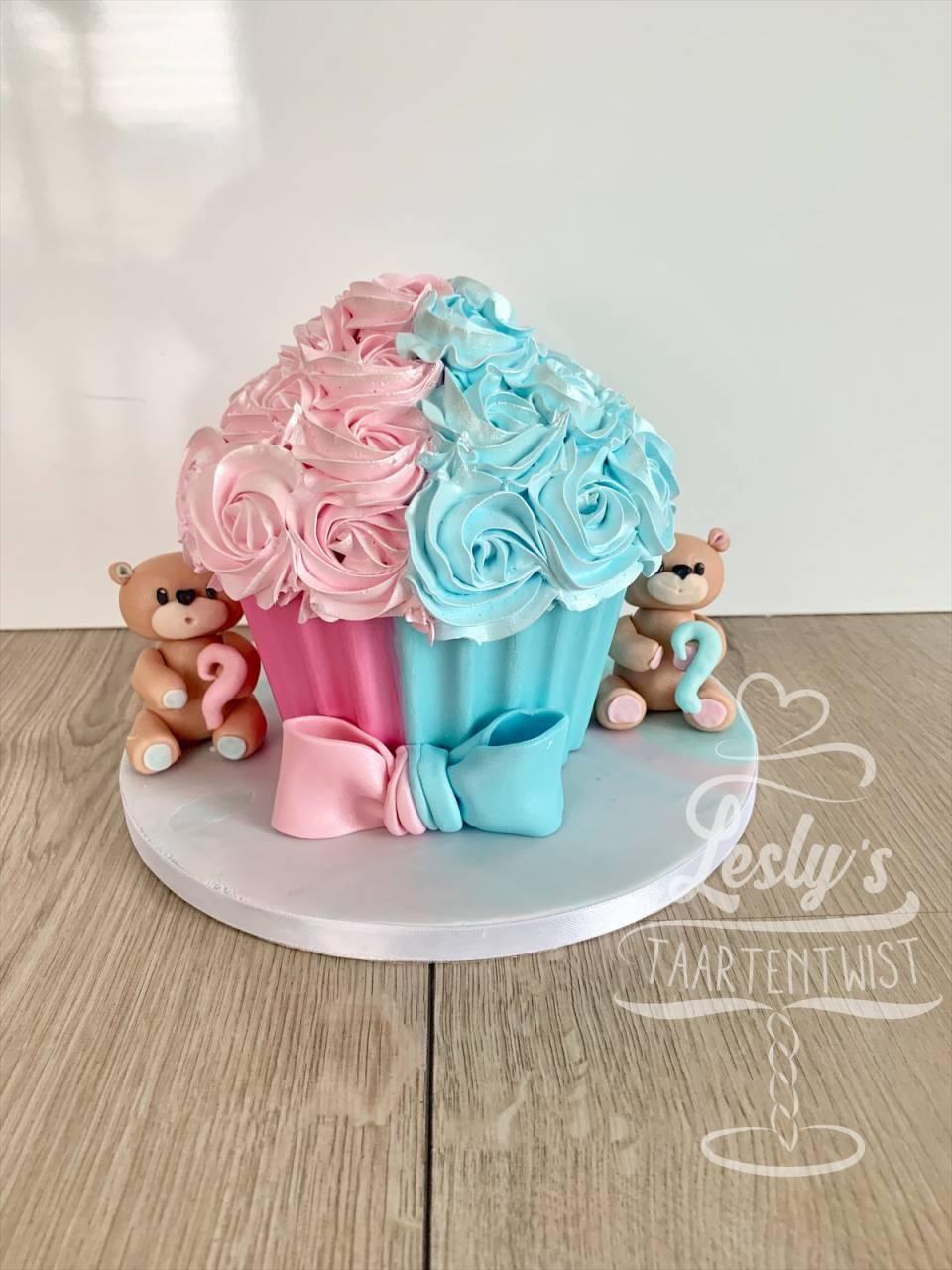 babyreveal cake