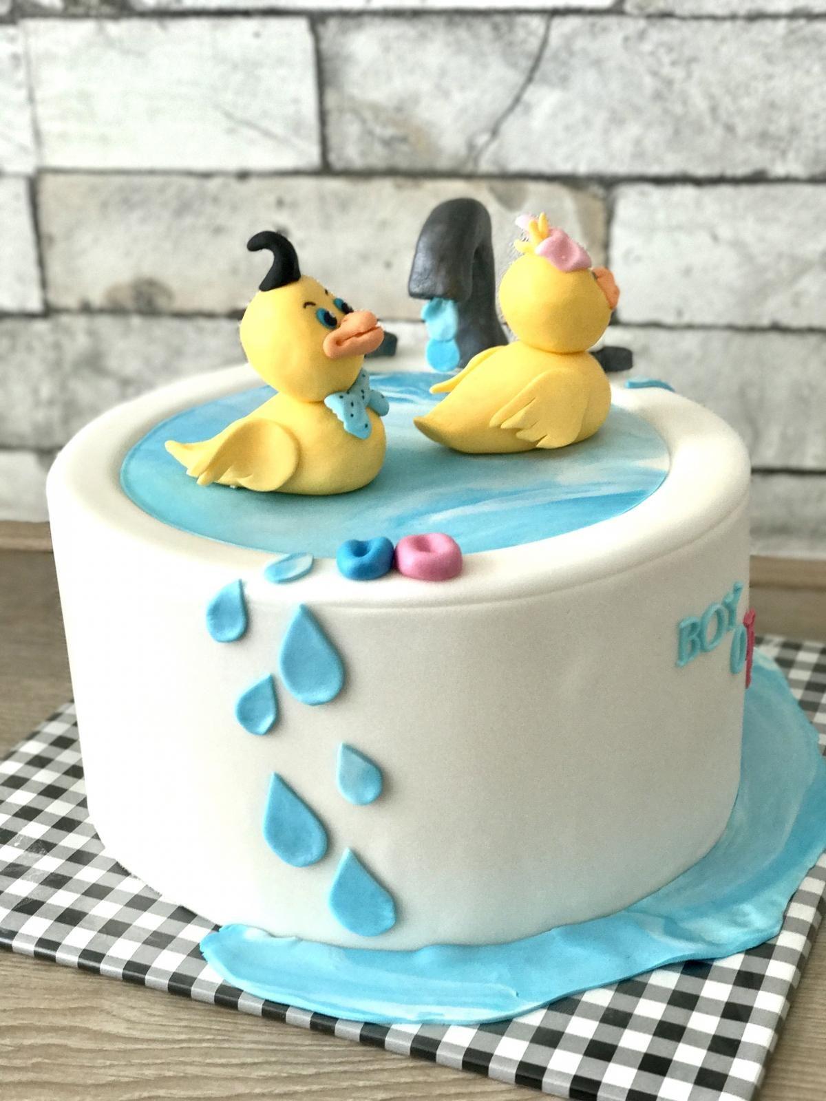 babyreveal duck cake