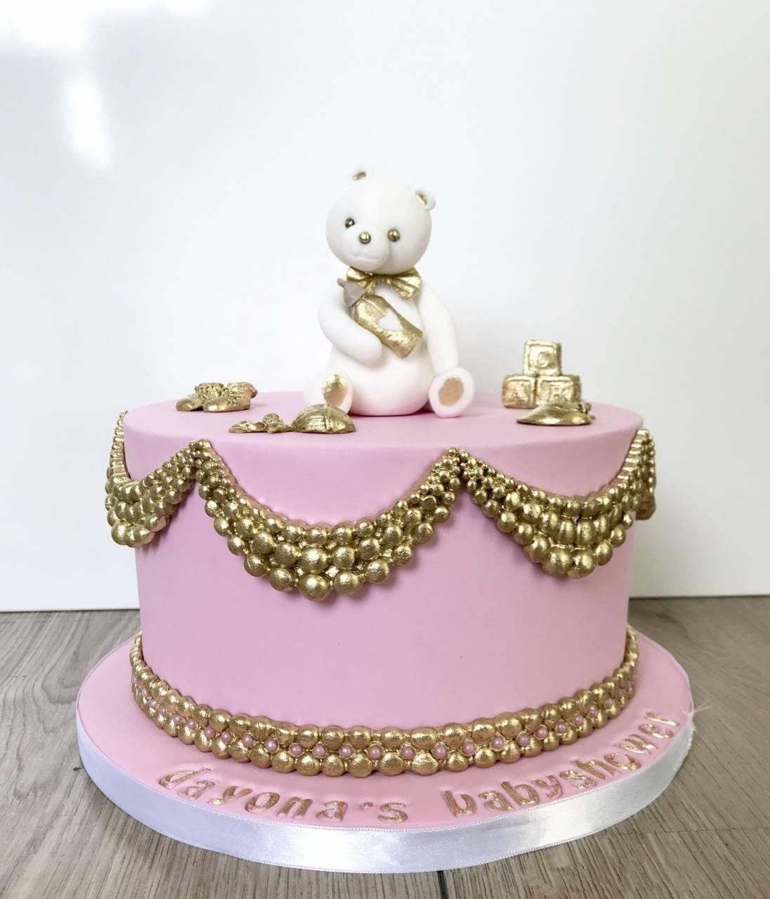 babyshower cake girl1
