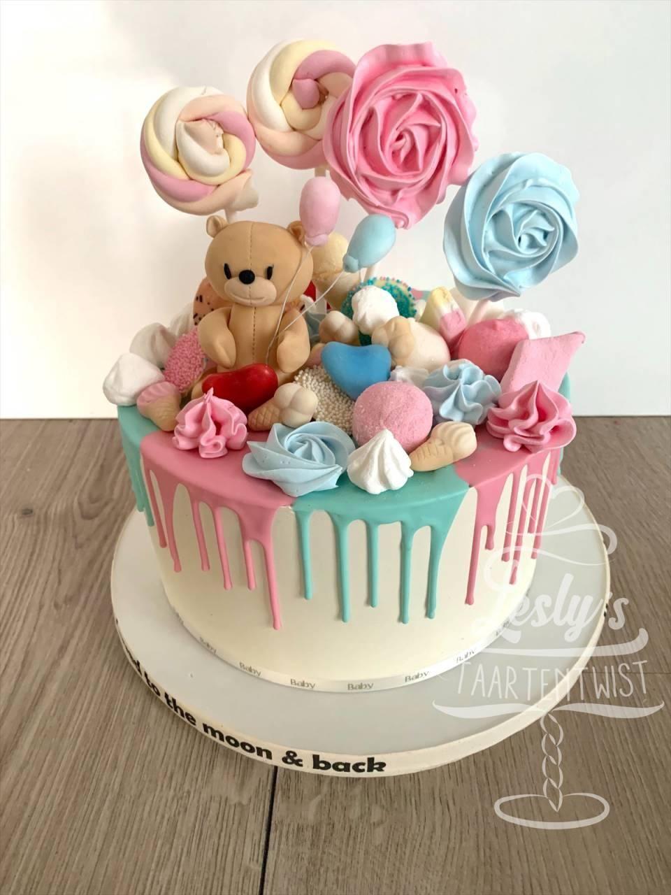 genderreveal-cake