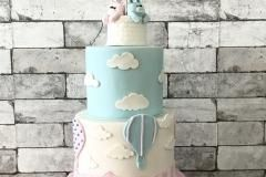 babyreveal cake balloon