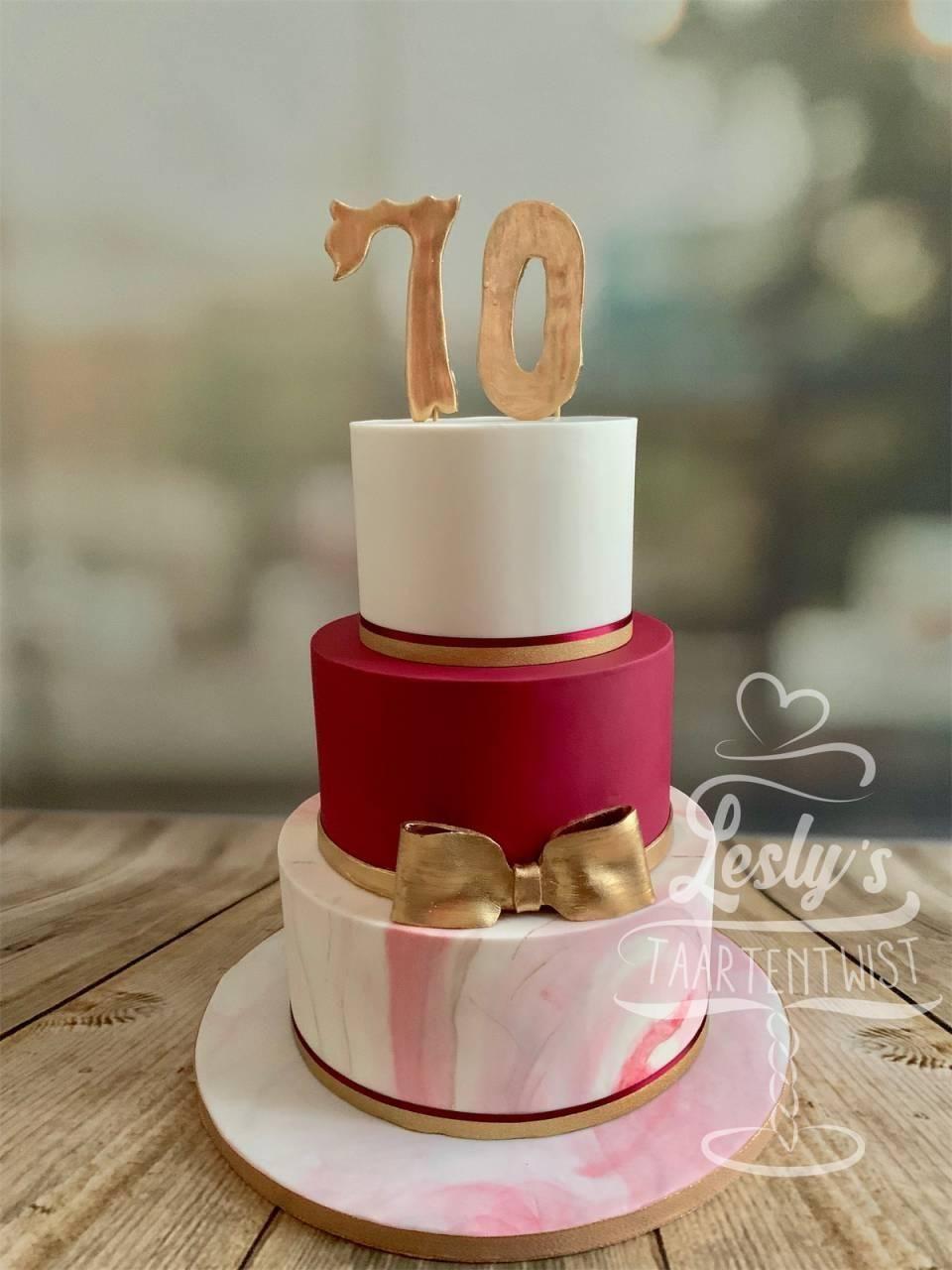 70-jarige-taart