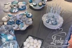 baby shower boy table