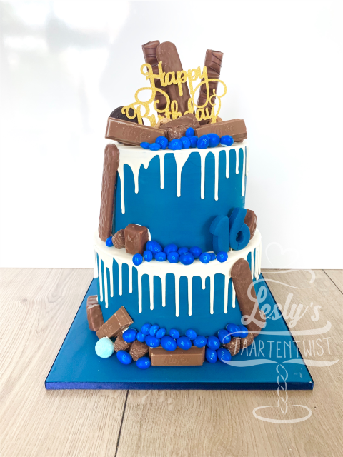drip-cake-royal-blue