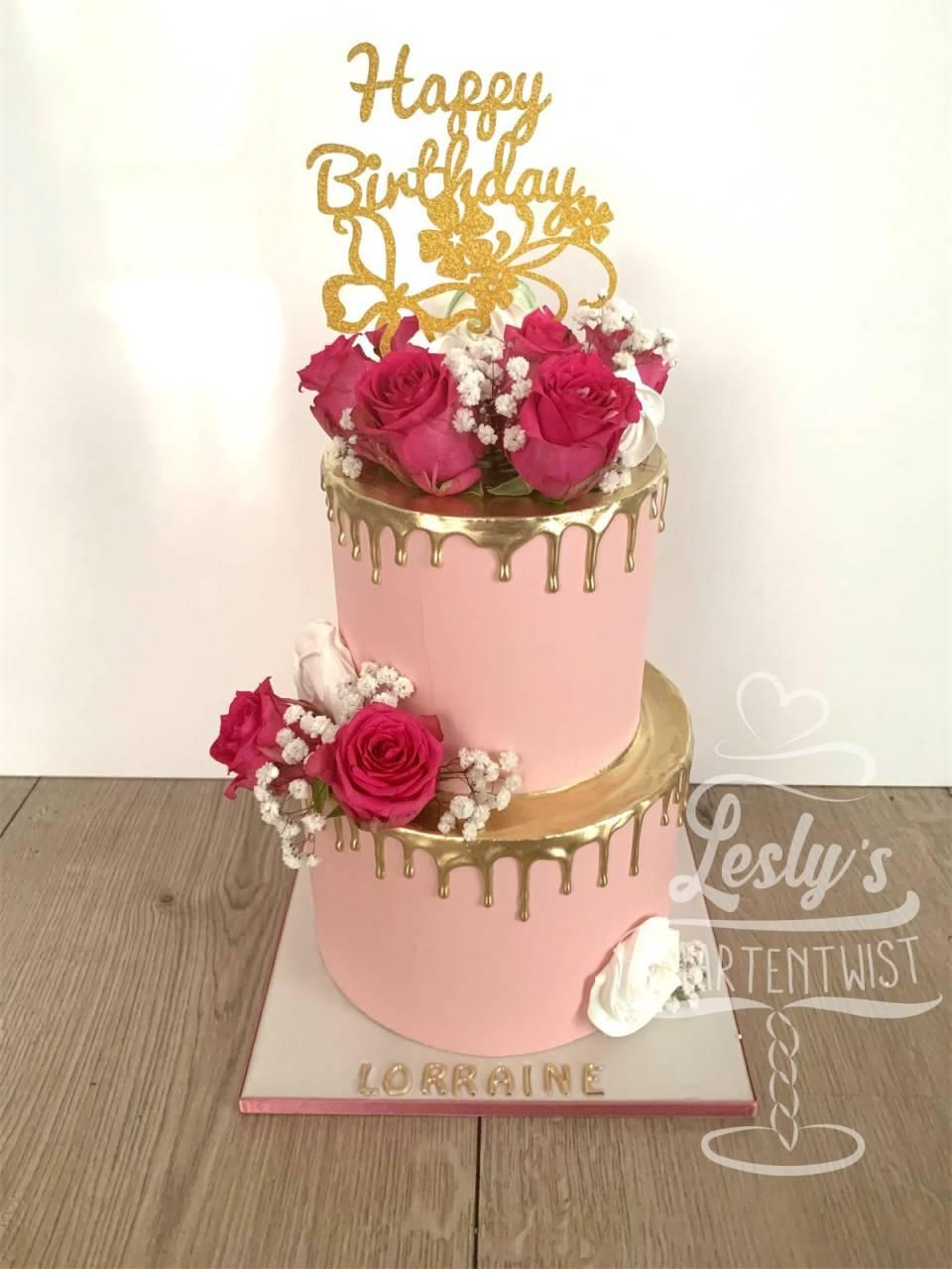 dripcake-pink-and-gold