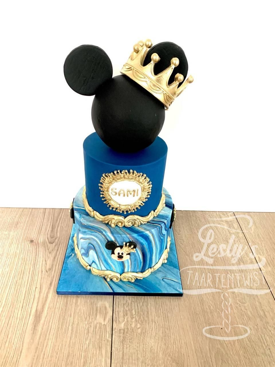 mickey-taart-royal-blue