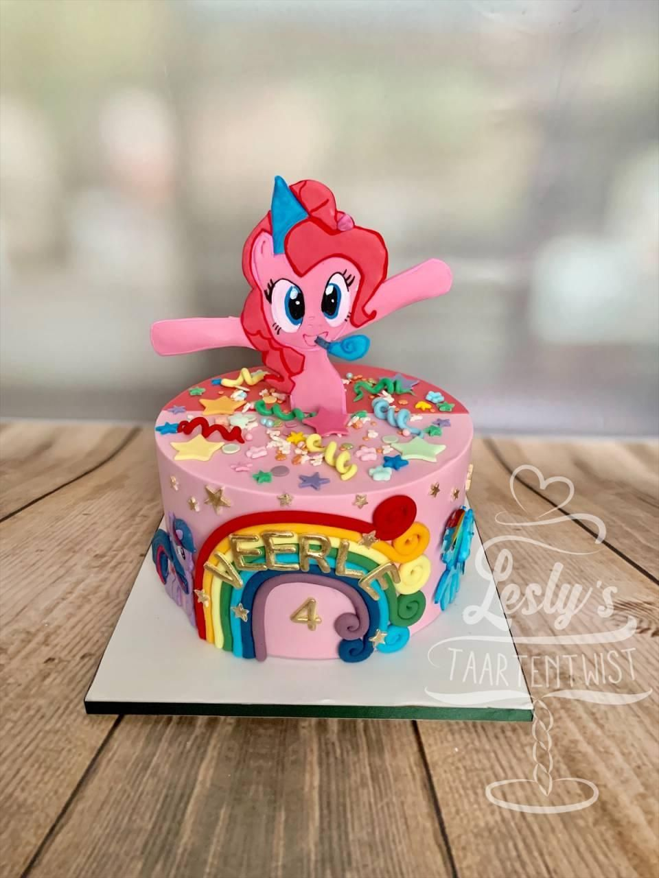 my little pony taart pinkie