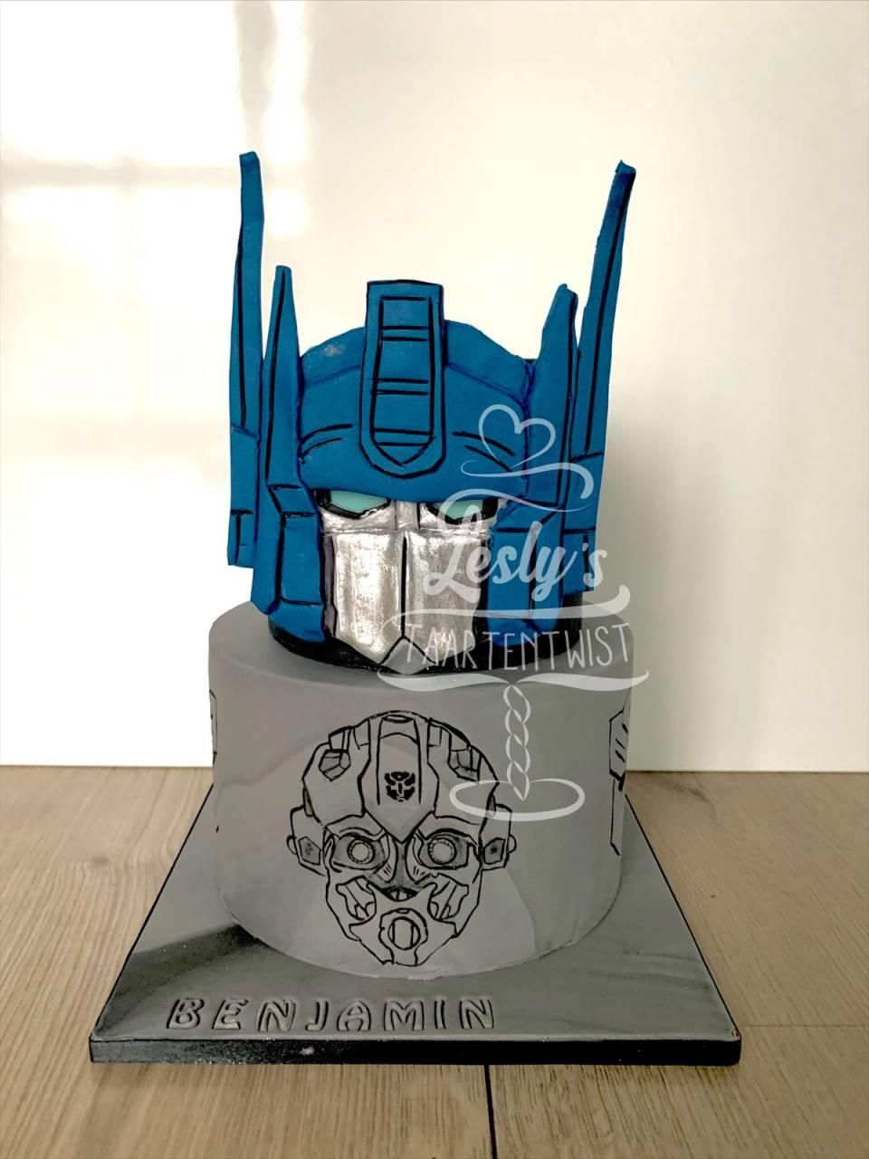 optimus-prime-transformer-taart