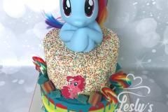 my little pony taart