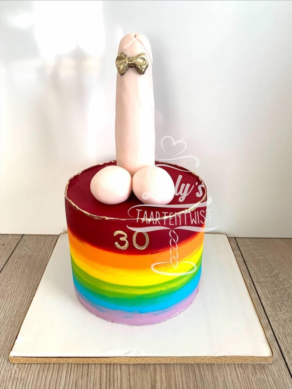 rainbow-cock-cake-18-years